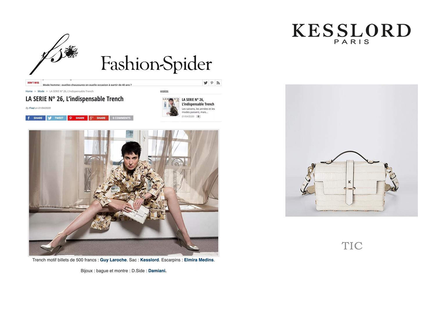 LA SERIE N° 26, L'indispensable Trench - Fashion Spider (fashion-spider.com)