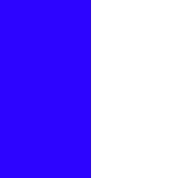 Bleu Electrique / Blanc - ELBL