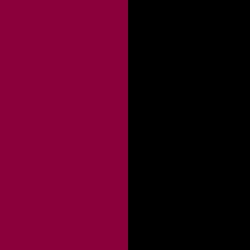 Bordeaux / Noir - BX/N