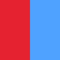Rouge/Azur - R/AZ