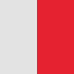 Argent / rouge - ARR