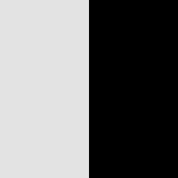 Argent / noir - AR/N