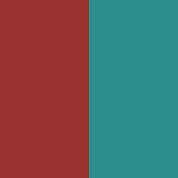 Rouge Carmin/Turquoise - CRTQ