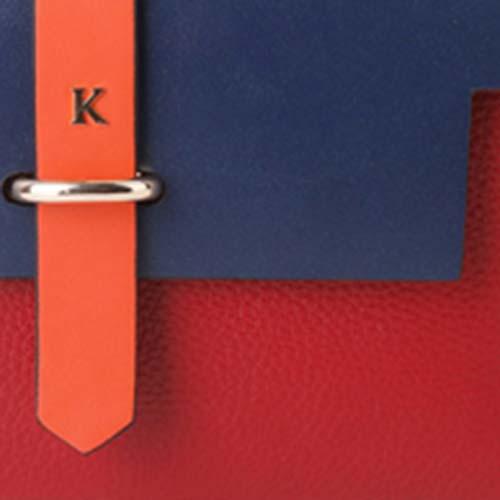 Rouge Carmin/Marine/Orange - CRMEOG